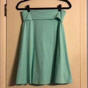 LuLaRoe Azure Skirt-EUC
